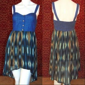 MIMI CHICA high low sundress S w/DEFECT